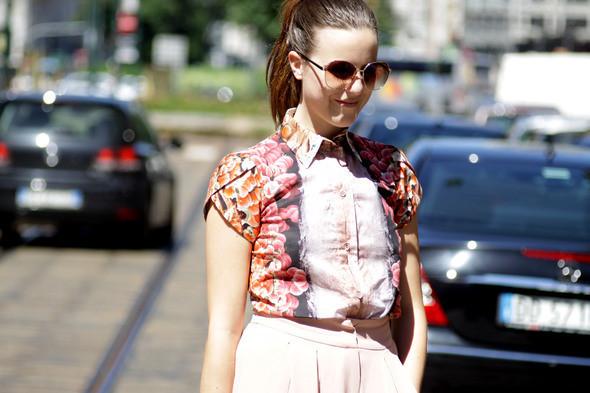 Изображение 12. Девушки на Milan Fashion Week: день 2.. Изображение № 12.
