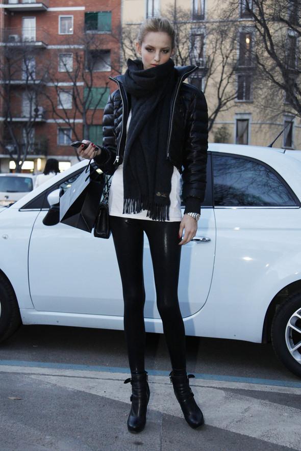 Models street style. Изображение № 4.