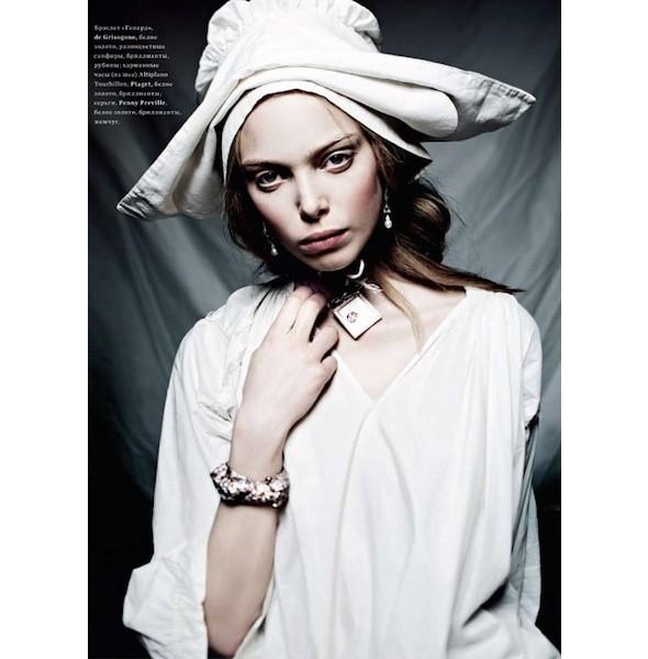 5 новых съемок: Amica, Elle, Harper's Bazaar, Vogue. Изображение № 25.
