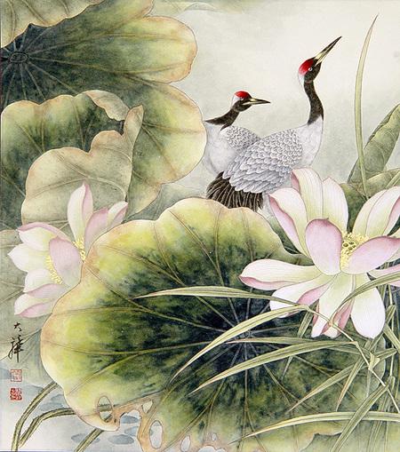 Птицы ицветы. Изображение № 27.