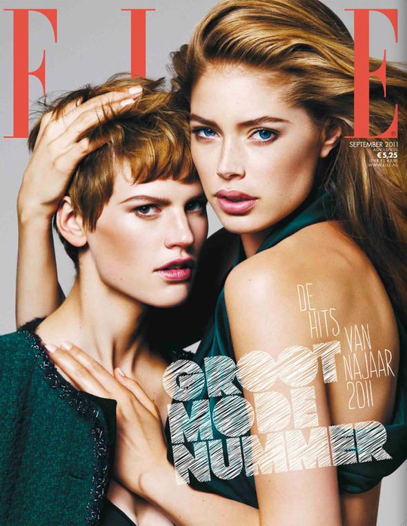 Обложки: D, Elle и Marie Claire. Изображение № 2.