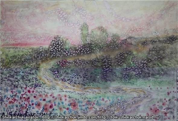 Shinkarchuk Anatoly watercolor and Japan Шинкарчук Анатолий акварель и Япония. Изображение № 10.