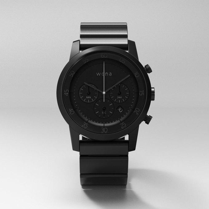 Sony начала сбор средств на выпуск смарт-часов Wena . Изображение № 2.