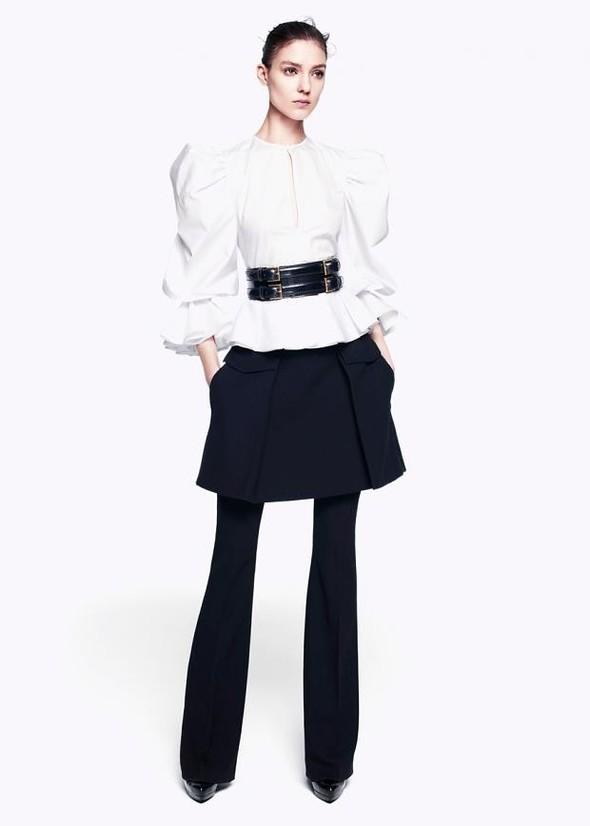 Лукбук: Alexander McQueen Pre-Fall 2012. Изображение № 11.