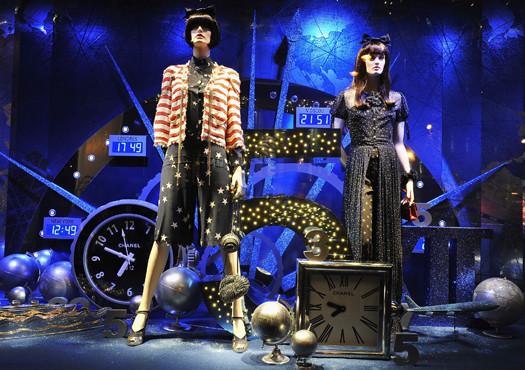 10 праздничных витрин: Робот в Agent Provocateur, цирк в Louis Vuitton и другие. Изображение № 10.