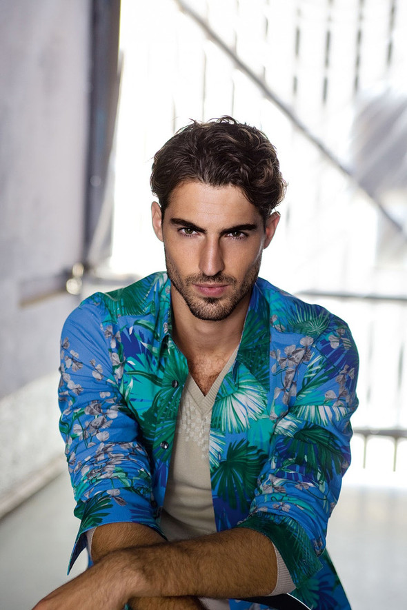 Мужские лукбуки: Rad Hourani, Versace и другие. Изображение № 23.