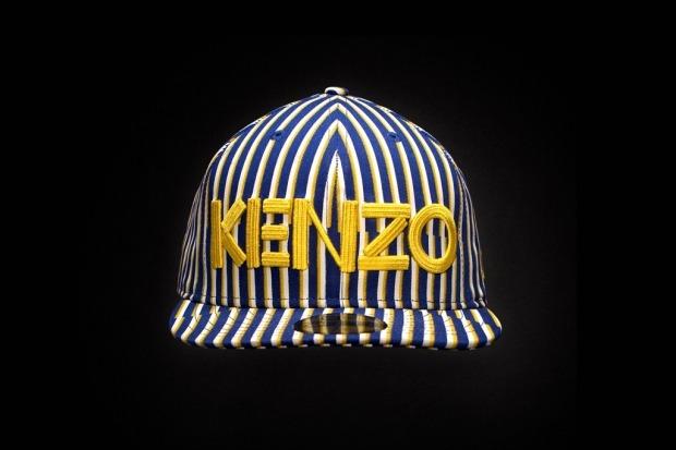 Kenzo снова создали кепки и кеды с New Era и Vans. Изображение № 1.
