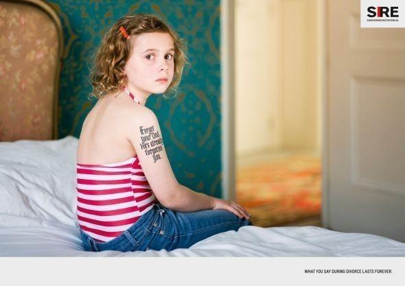 Изображение 7. Рекламная кампания: Дети и развод.. Изображение № 3.