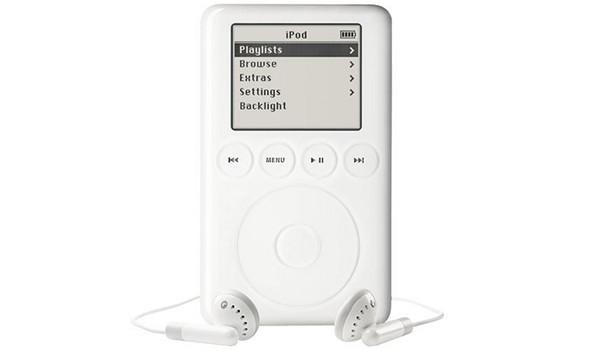 Ipod classic третьего поколения (начало выпуска - 2003 год). Изображение № 3.