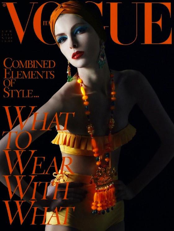 Изображение 5. Обложки Vogue: Япония, Австралия и другие.. Изображение № 4.