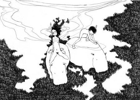 Гуру акварельной графики илиграфичной акварели. Изображение № 17.