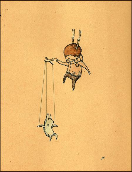 Карандаши какхолст. Изображение № 8.