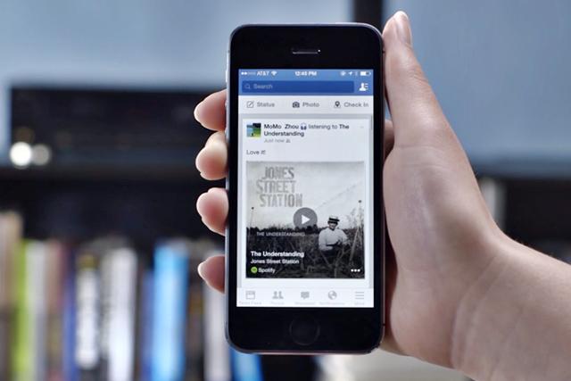 Мобильное приложение Facebook сможет распознавать песни и фильмы . Изображение № 1.
