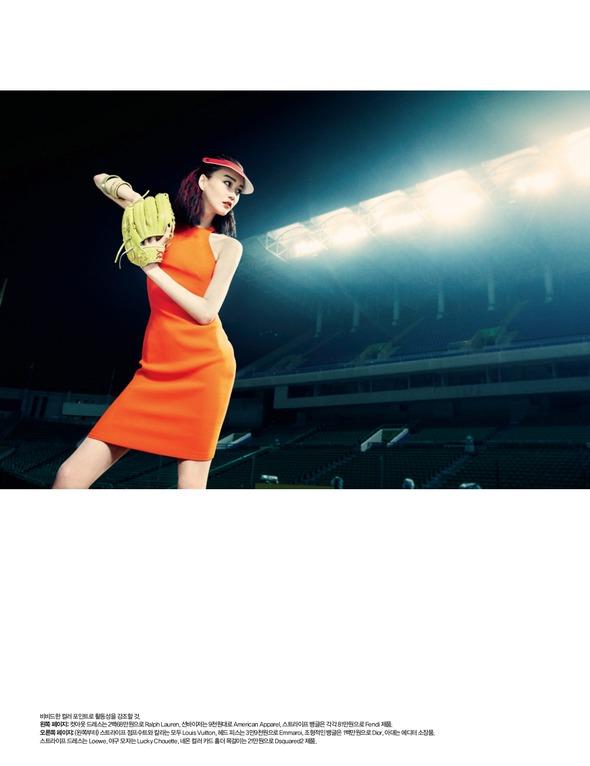 Быстрее, выше, сильнее: Модные съемки, вдохновленные спортом. Изображение №100.
