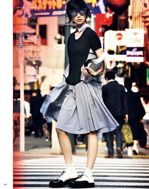 Съёмка: Тао Окамото для Vogue. Изображение № 8.
