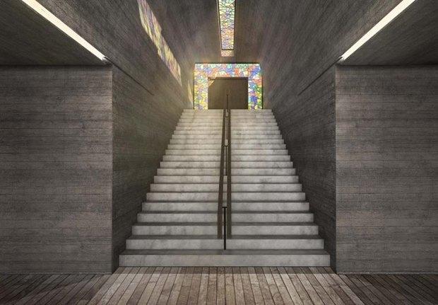 Архитектура дня: концепт церкви-креста на отвесной скале. Изображение № 5.