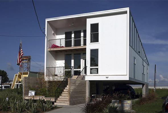 Архитектурный проект Брэда Питта. Изображение № 12.