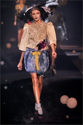 John Galliano Spring-Summer 2010. Изображение № 8.