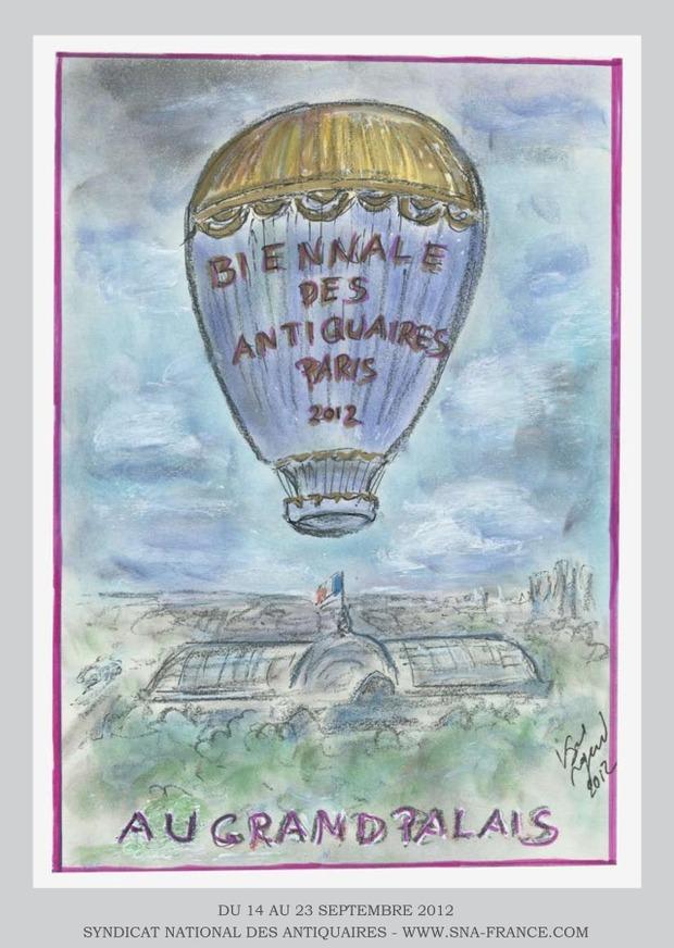 Карл Лагерфельд воссоздал парижские улицы для Biennale des Antiquaires. Изображение № 2.