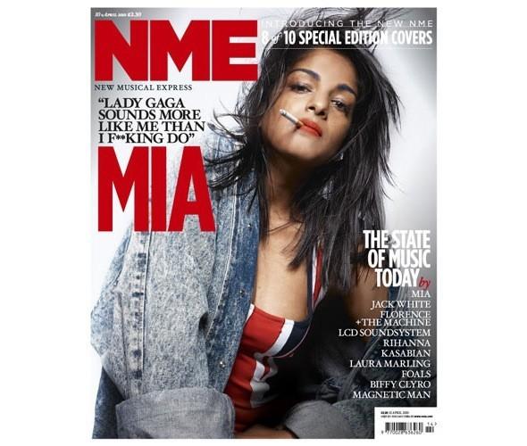Новый дизайн и десять обложек NME. Изображение № 1.