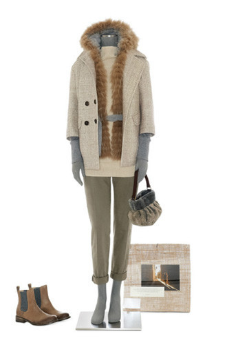 Brunello Cucinelli: лукбук осень-зима 2011/2012. Изображение № 91.