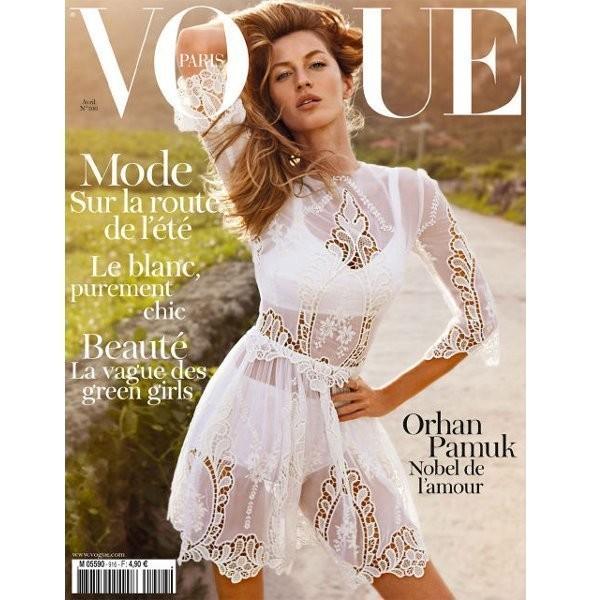 Изображение 3. Обложки Vogue: Франция, Британия и другие.. Изображение № 1.