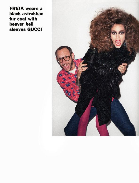 Purple Fashion: Best of the season by Terry Richardson. Изображение № 31.