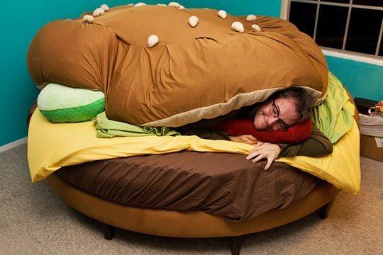 Кровать-гамбургер. Изображение № 1.