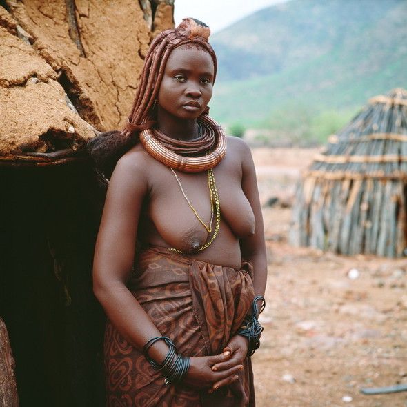 Женщины племени Химба. Намибия. Изображение № 3.
