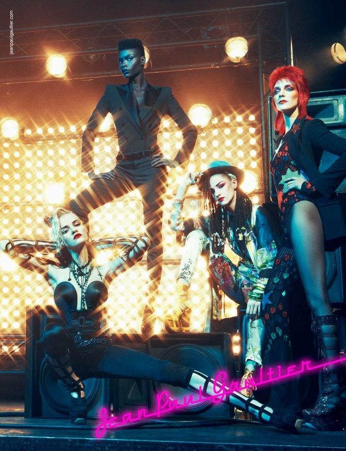 Balenciaga, Jean Paul Gaultier и Versace выпустили кампании. Изображение № 9.