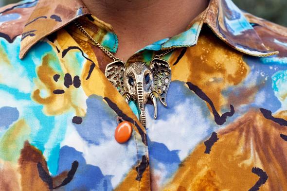 Пестрые рубашки и темные очки: Посетители фестиваля Sonar 2012. Изображение № 23.