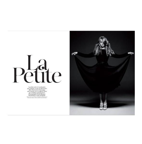 Юбилейный номер французского Vogue. Изображение № 7.
