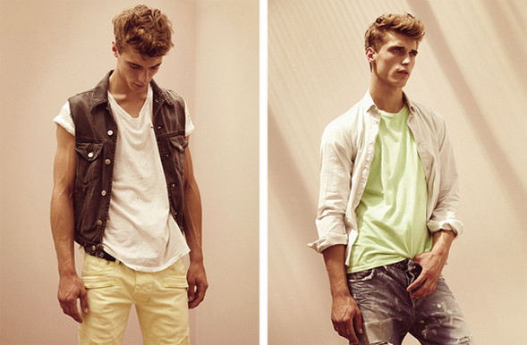 Balmain Homme Spring 2010 lookbook. Изображение № 2.