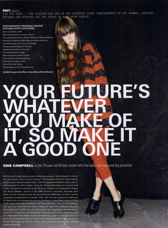 Новые съемки: i-D, Vogue, The Gentlewoman и другие. Изображение № 38.