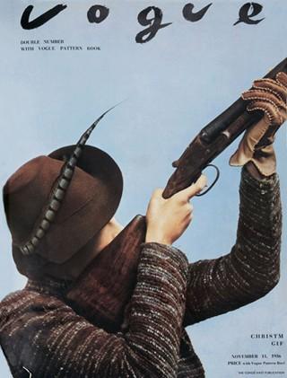 История глазами обложки Vogue (Британия). Изображение № 24.