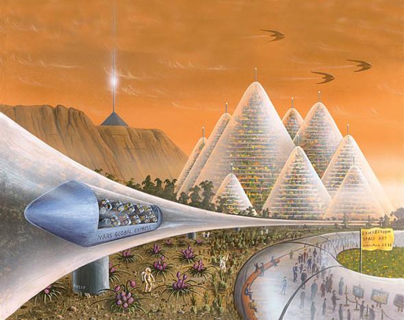 Есть ли жизнь на Марсе? Будет!. Изображение № 2.