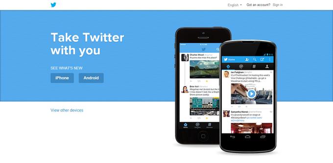 Twitter тестирует новый дизайн сайта. Изображение № 1.