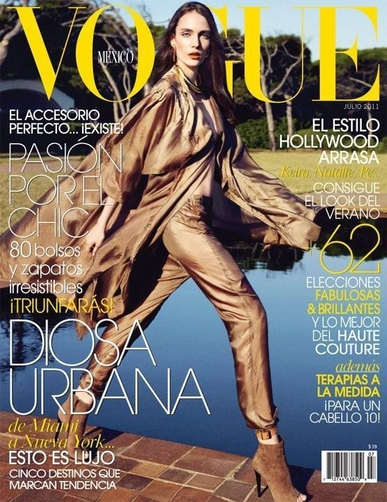 Изображение 4. Обложки Vogue: Греция, Мексика и Бразилия.. Изображение № 2.