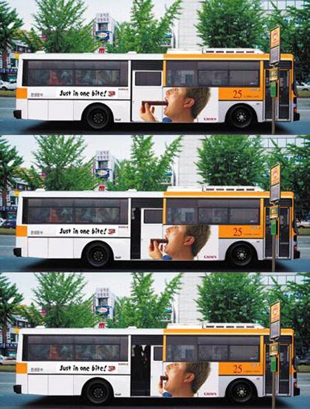 Необычная автобусная реклама. Изображение № 9.