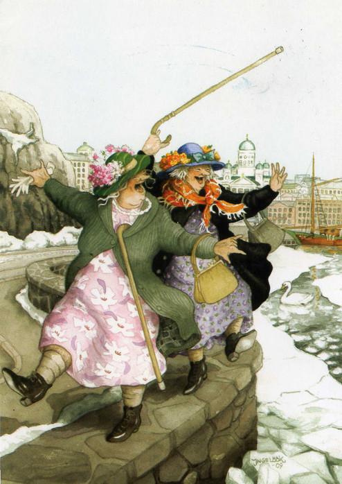 Inge Lооk - и развесёлые бабульки. Изображение № 8.