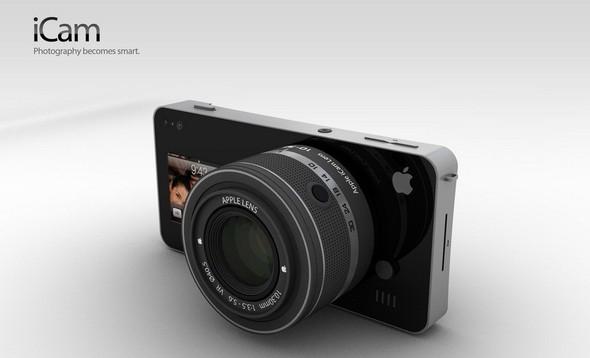 ICam - сделай фотоаппарат из своего iPhone или iPod. Изображение № 1.