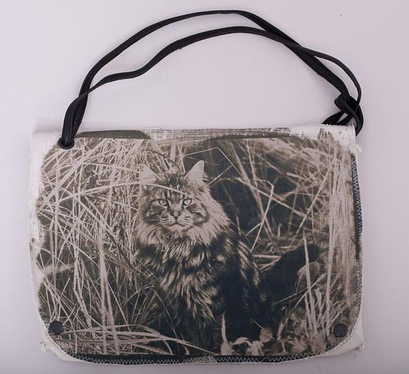 БЕЛОЕ — рюкзаки и сумки из грубого белого хлопка. Изображение № 14.
