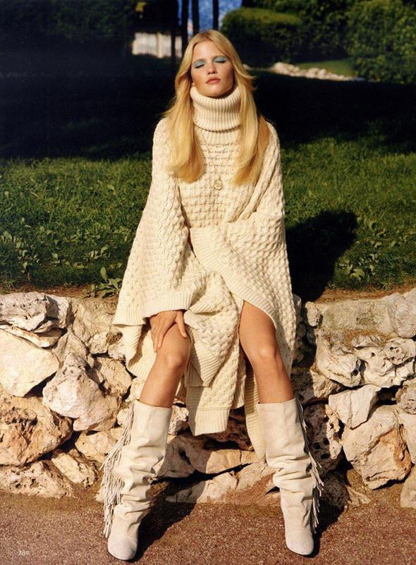 Лара Стоун в Vogue UK. Изображение № 7.