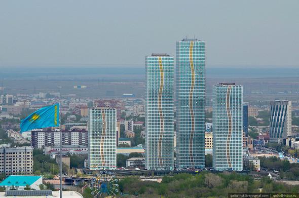 Изображение 3. Астана с высоты птичьего полета.. Изображение № 3.