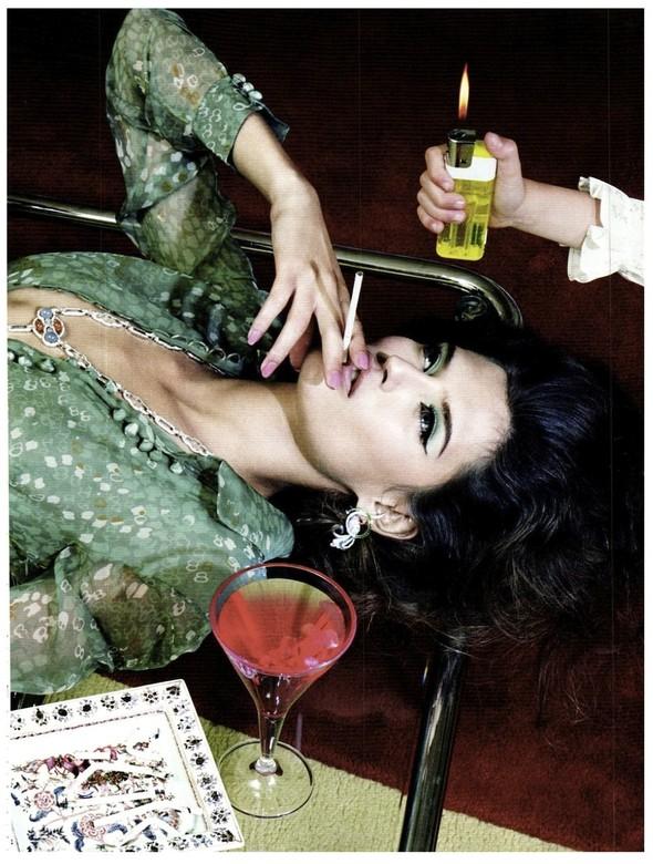 Съёмка: Бьянка Балти для итальянского Vogue. Изображение № 6.