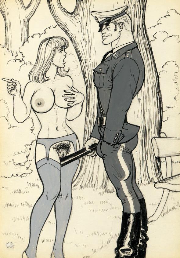 «Грязные рисунки» TomofFinland. Изображение № 1.