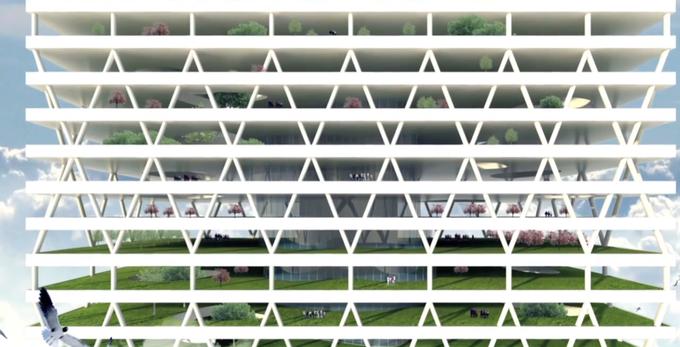 Архитектор предложил строить в городах кладбища-небоскрёбы. Изображение № 2.