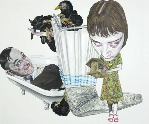 """""""Искусство расширенного сознания"""" в полотнах швейцарского художника. Изображение № 15."""