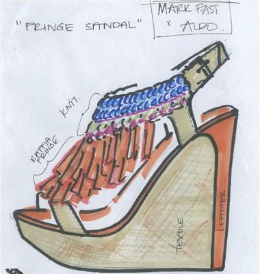 Марк Фаст создает обувь для Aldo. Изображение № 1.