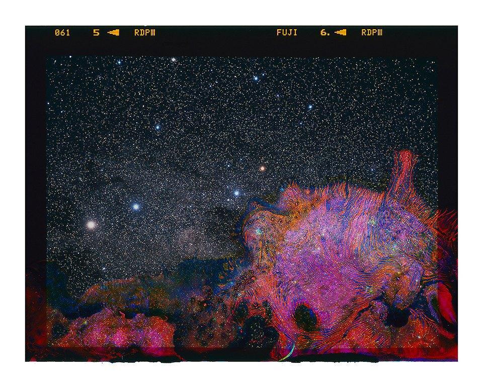Космические пейзажи, созданные бактериями . Изображение № 10.